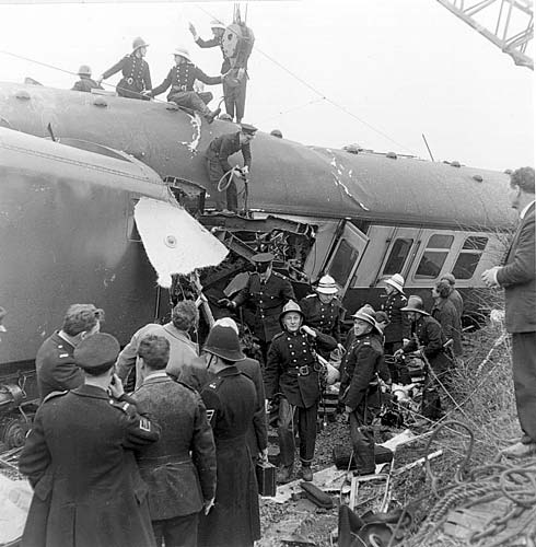 Week 9 Hixon Rail Crash, Staffordshire  January 1968