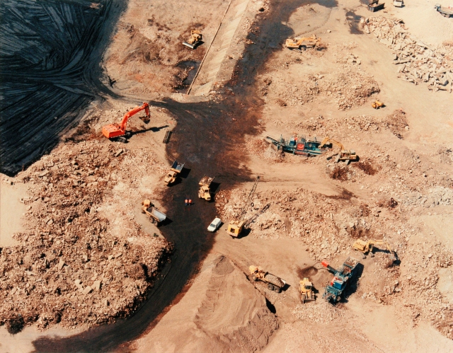 land reclamation and remediation at Ham's Hall, West Midlands