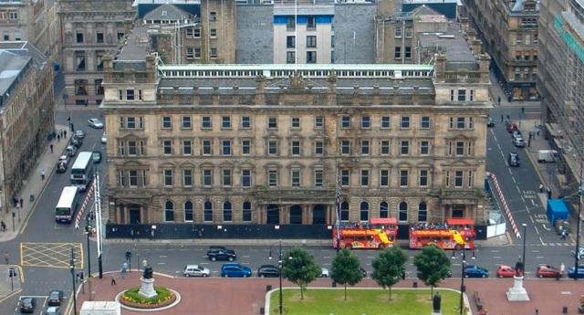 G1 Glasgow facade retention and specialist demolition