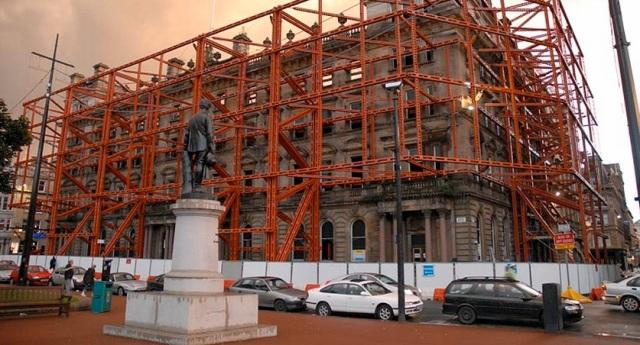 Facade retention Glasgow G1