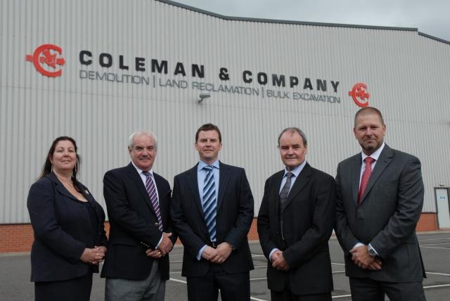 Coleman & Company Demolition Contractors Directors